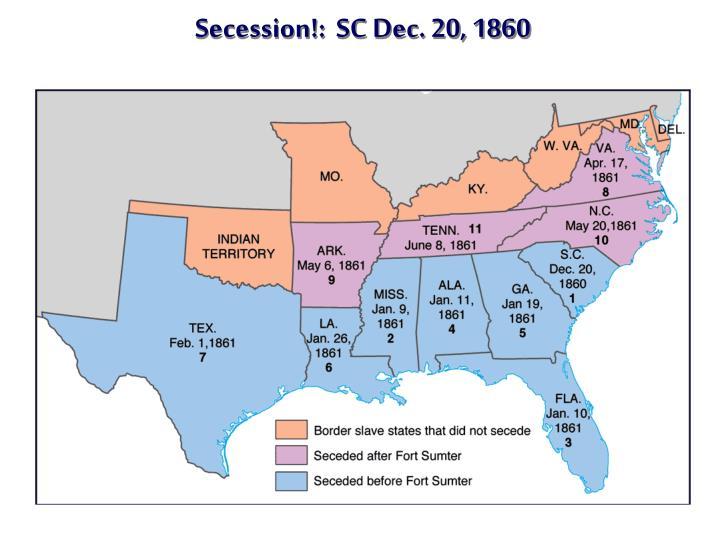Secession!:  SC