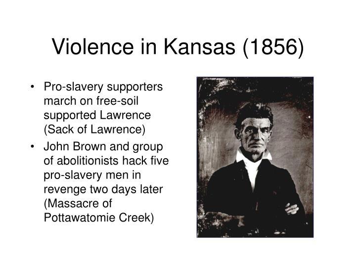 Violence in Kansas (1856)