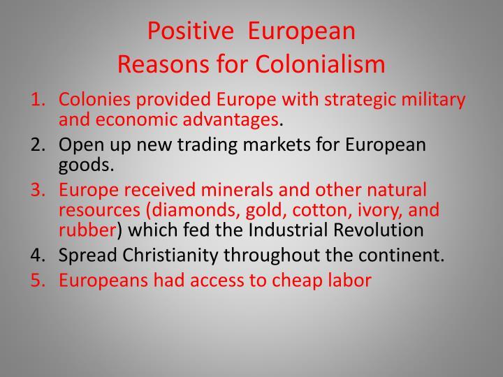 Positive  European