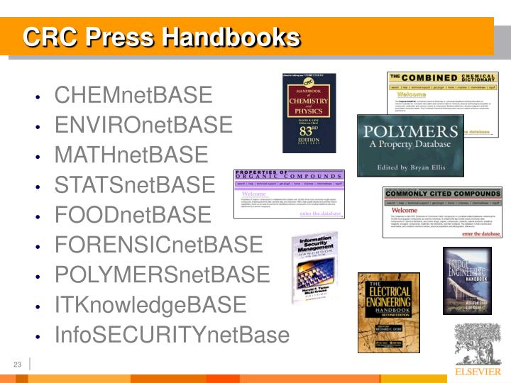CRC Press Handbooks