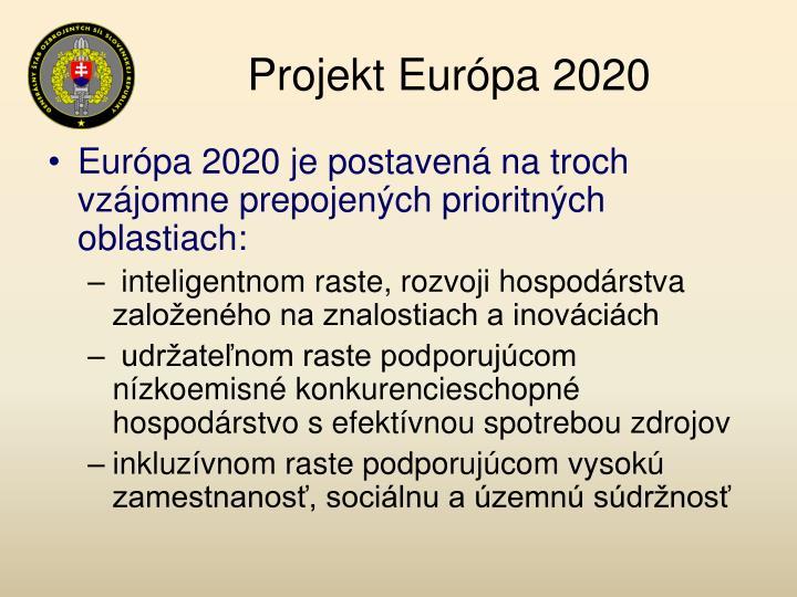 Projekt Európa 2020
