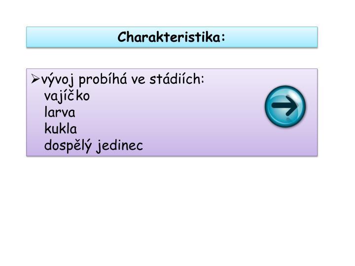 Charakteristika: