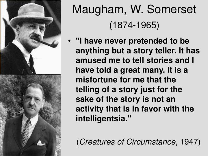 Maugham, W. Somerset