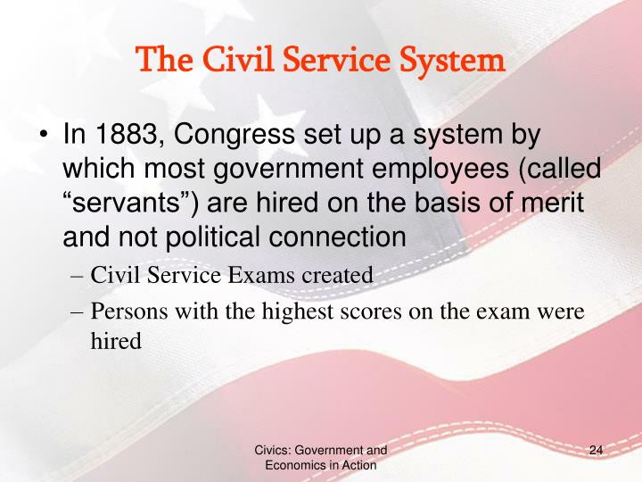 the civil service the real government
