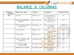 balance 8 columnas
