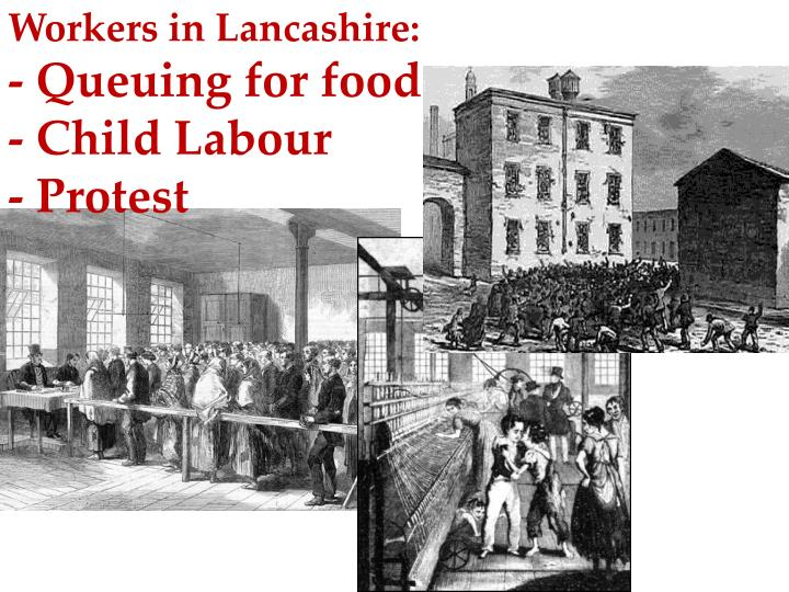 Workers in Lancashire: