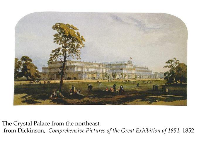 The Crystal Palace from the northeast,