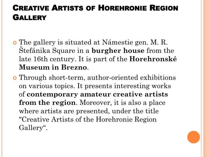 Creative Artists of