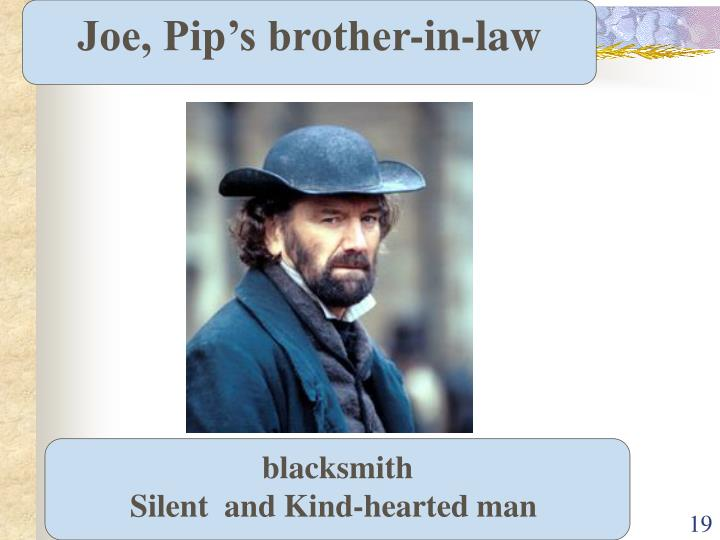 Joe, Pip's brother-in-law