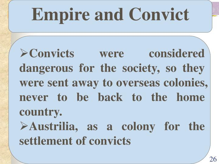 Empire and Convict