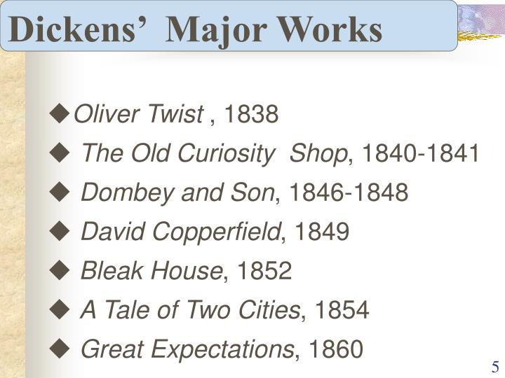 Dickens'  Major Works