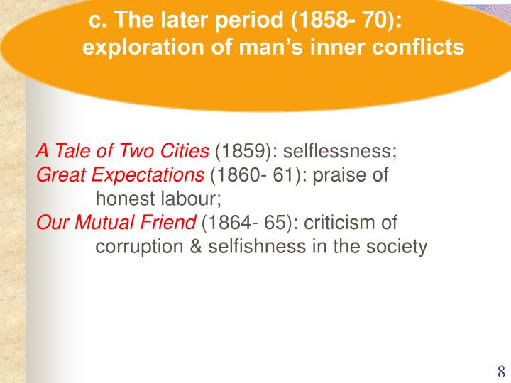 c. The later period (1858- 70):