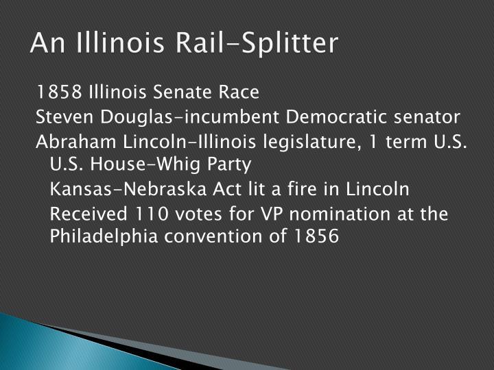 An Illinois Rail-Splitter