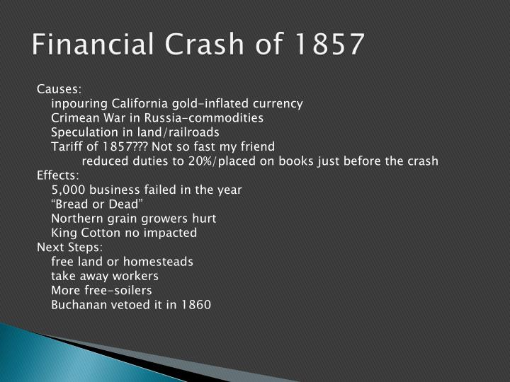 Financial Crash of 1857