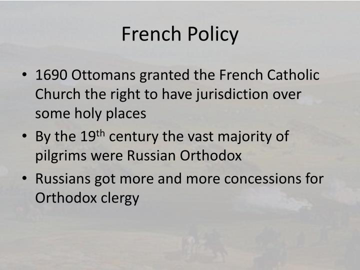 French Policy