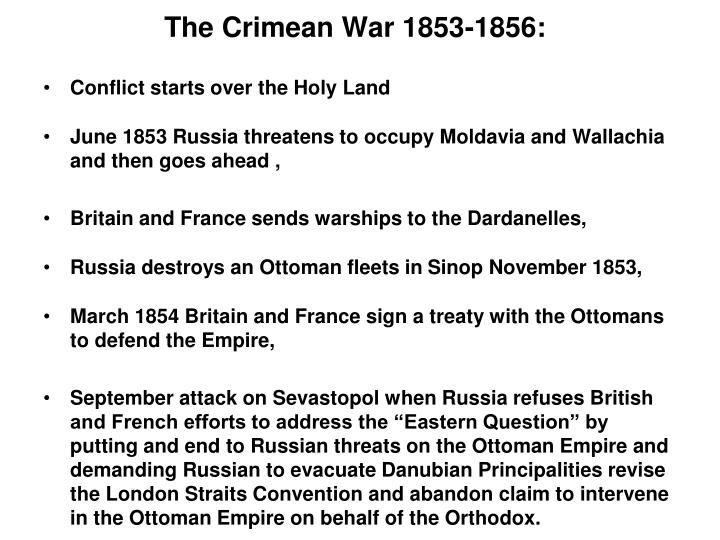 The Crimean War 1853-1856: