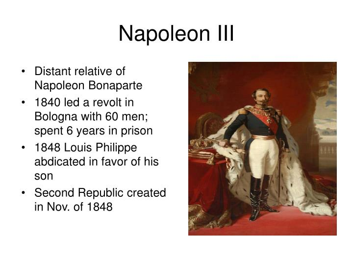 Distant relative of Napoleon Bonaparte