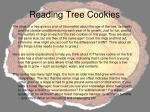 reading tree cookies