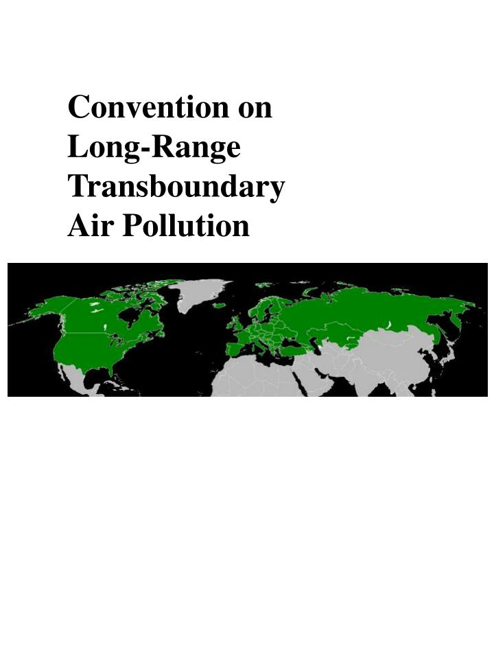 Convention on Long-Range Transboundary Air Pollution