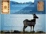 the book of durrow 7th century gospel manuscript