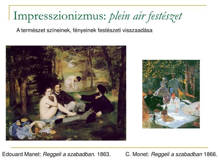 Impresszionizmus: