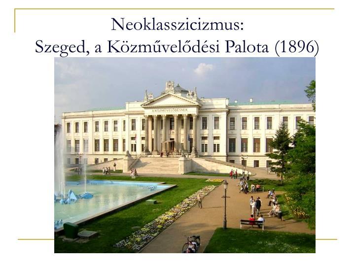 Neoklasszicizmus:
