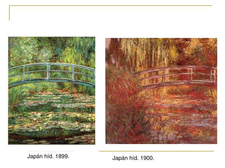 Japán híd. 1899.