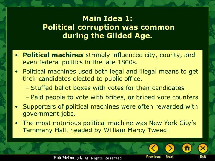 Political machines