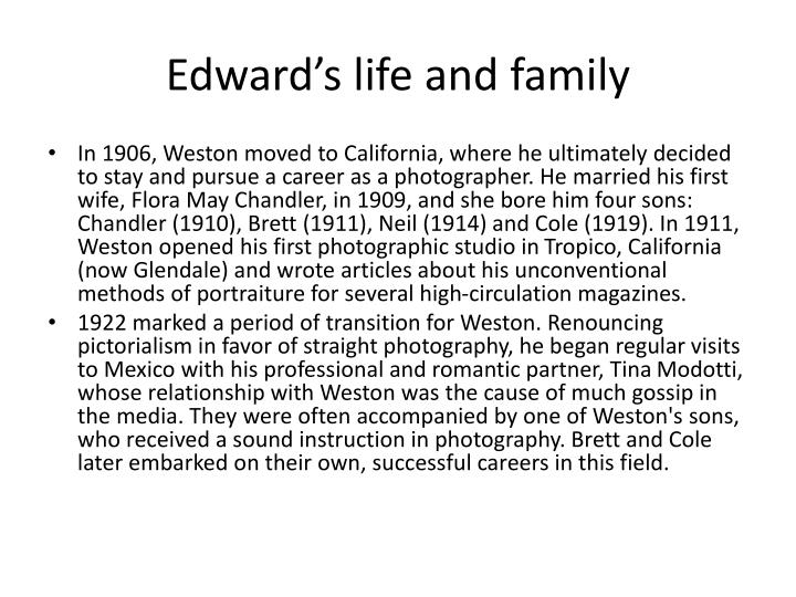 Edward's life and family
