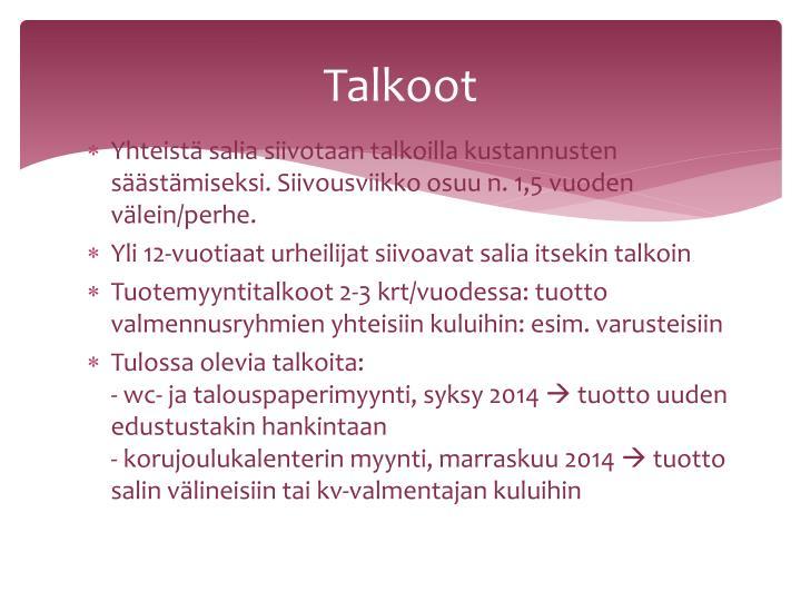 Talkoot