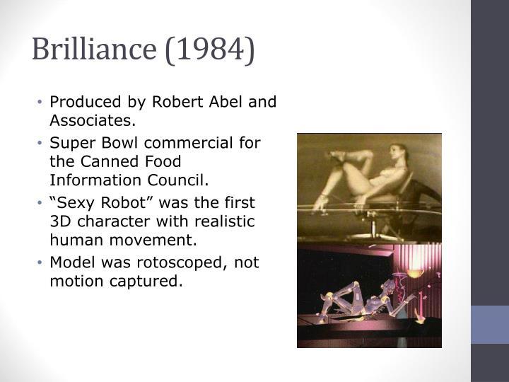 Brilliance (1984)