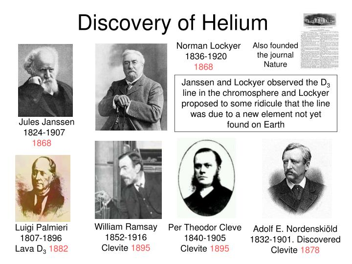 Discovery of Helium