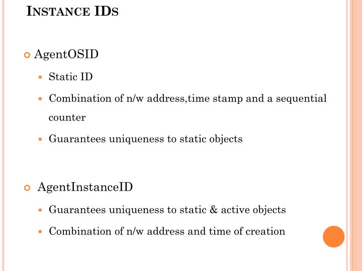 AgentOS Identifiers and Agent Instance IDs