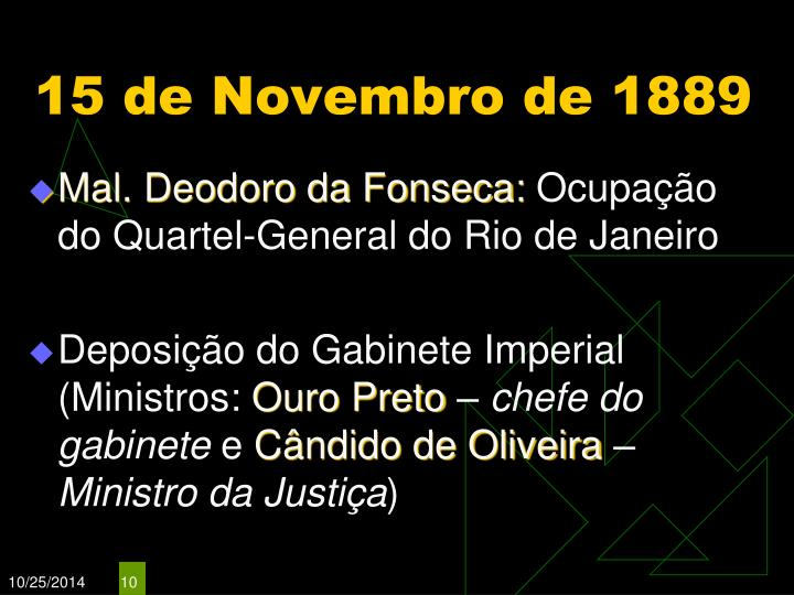 15 de Novembro de 1889