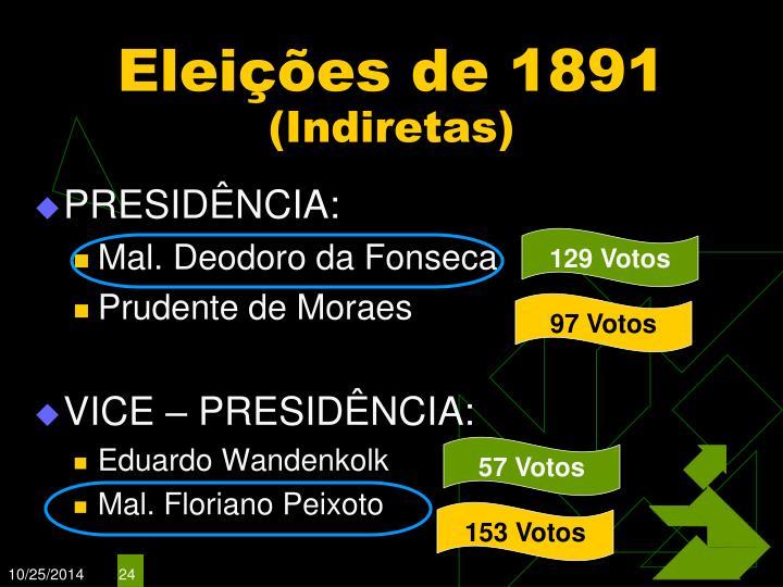 Eleições de 1891