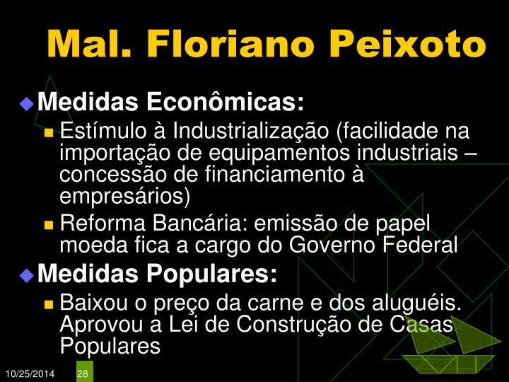 Mal. Floriano Peixoto