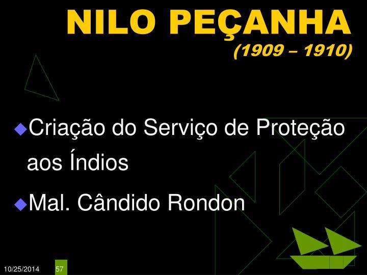 NILO PEÇANHA