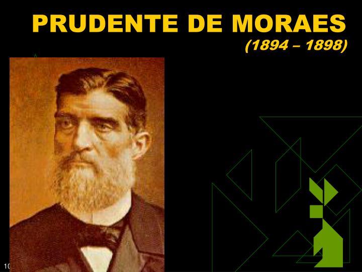 PRUDENTE DE MORAES