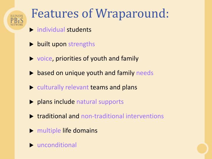 Features of Wraparound: