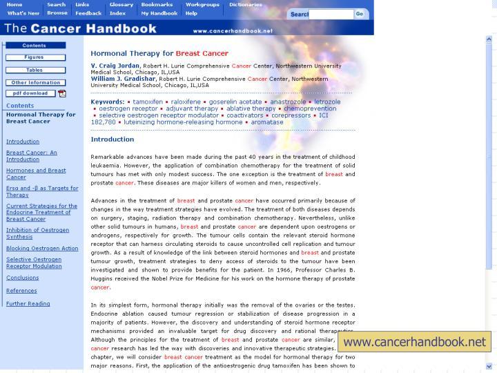 www.cancerhandbook.net