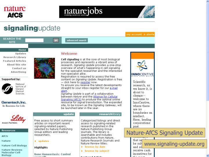Nature-AfCS Signaling Update
