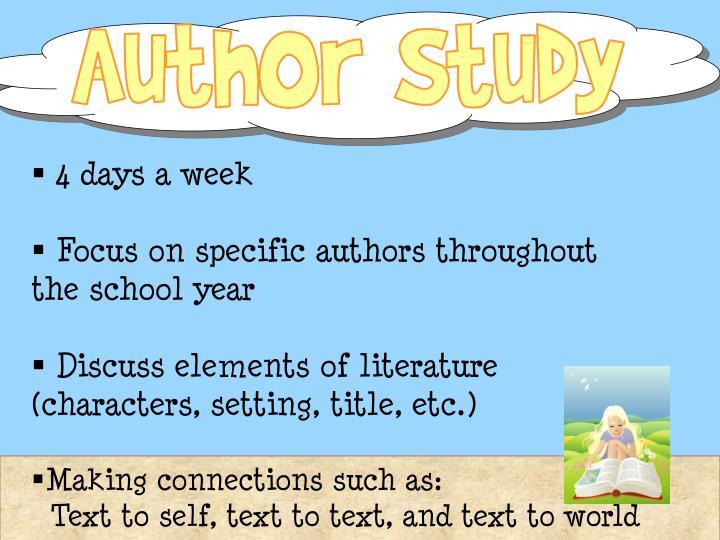 Author Study