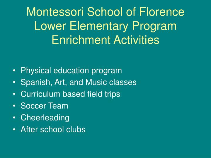 Montessori School of Florence