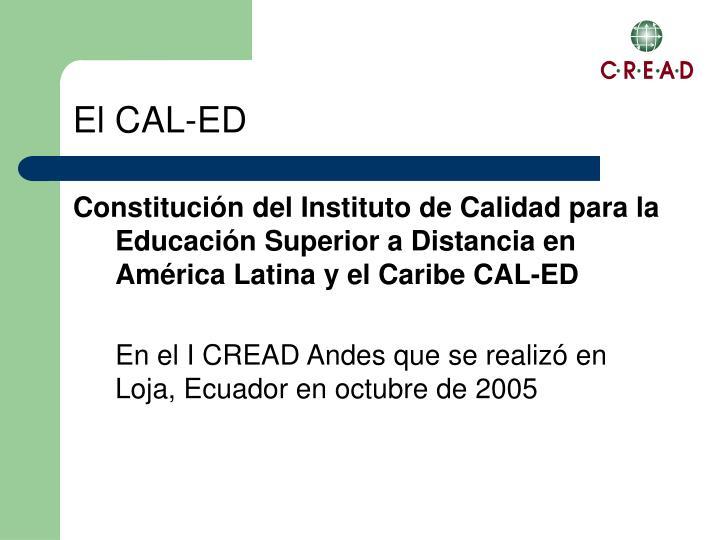 El CAL-ED