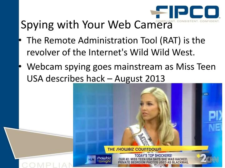 Spying with Your Web Camera