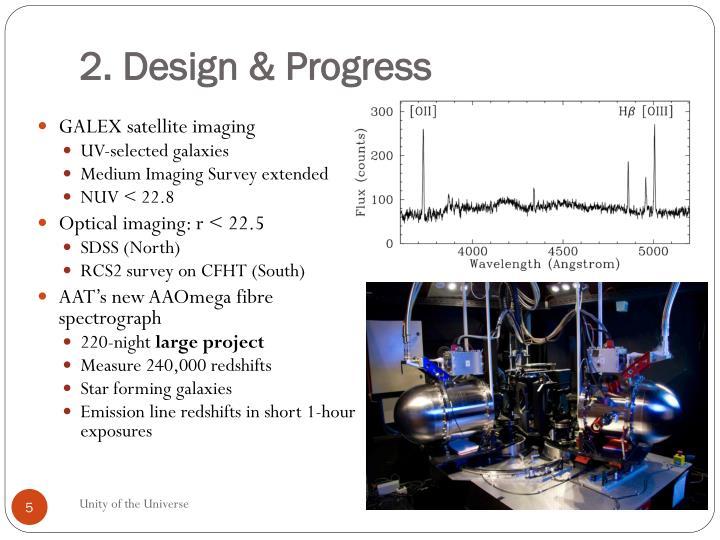 2. Design & Progress
