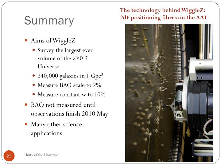 The technology behind WiggleZ: 2dF positioning fibres on the AAT