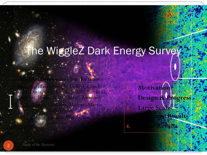 The WiggleZ Dark Energy Survey