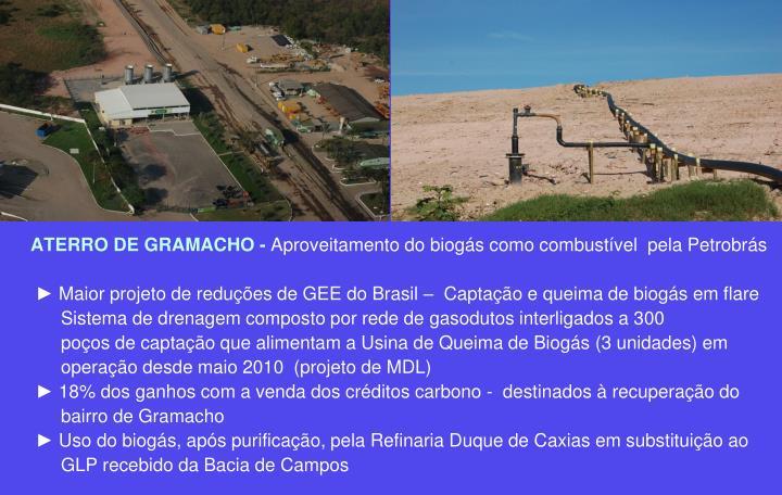 ATERRO DE GRAMACHO