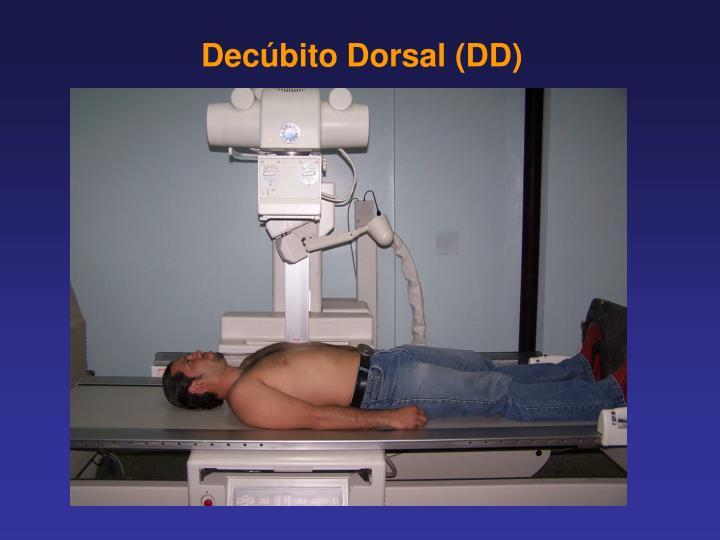 Decúbito Dorsal (DD)